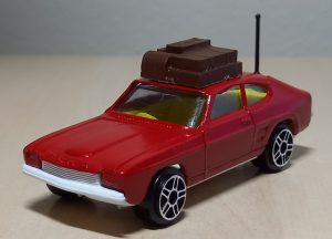 Corgi Ford Capri Custom